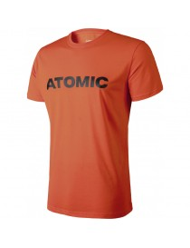 ATOMIC ALPS T-SHIRT BRIGHT RED